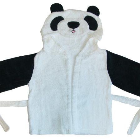 - 025 02P 450x450 - Baby Kapuzenbademantel – Panda