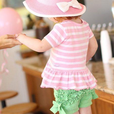 baby - HAWPIXX PSWB 450x450 - Baby Sommerhut Rosa  – Girl / Mädchen