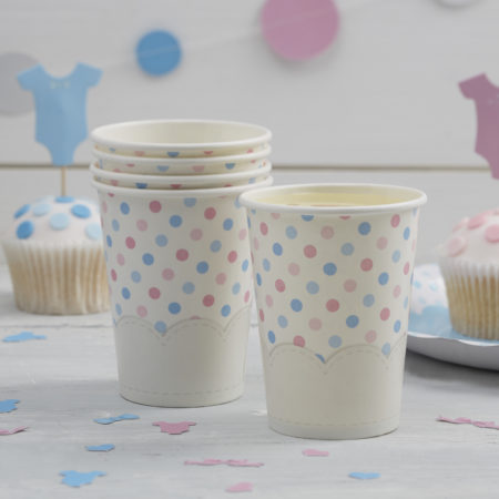 pappbecher - LM 303 Paper Cups 1 450x450 - Pappbecher – Boy or Girl