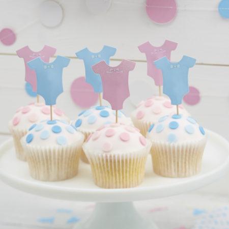 cupcake - LM 309 Cupcake Toppers 1 450x450 - Cupcake Toppers – Boy or Girl