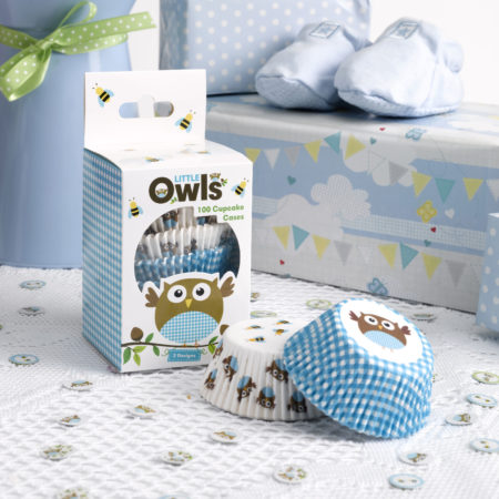 cupcake - MAX LRS 672625 LOBS Blue Cupcake Cases 450x450 - Cupcake Cups – Babyeule Boy