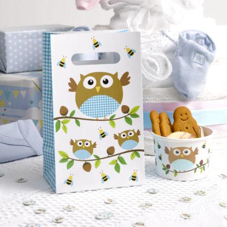 geschenktütchen - MAX LRS 672649 LOBS Blue Party Bags 450x450 - Geschenktütchen – Babyeule Boy
