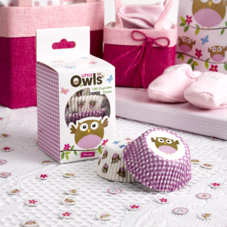 cupcake - MAX LRS 672816 LOBS Pink Cupcake Cases 450x450 - Cupcake Cups – Babyeule Girl