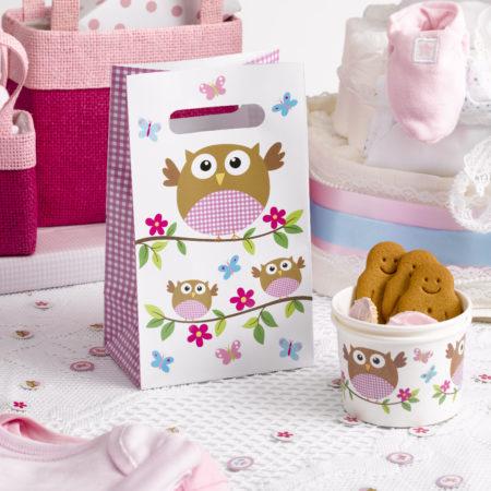 geschenktütchen - MAX LRS 672830 LOBS Pink Party Bags 450x450 - Geschenktütchen – Babyeule Girl
