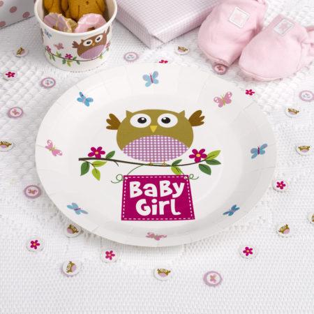 pappteller - MAX LRS 672922 LOBS Baby Girl Plate 450x450 - Pappteller – Babyeule Girl