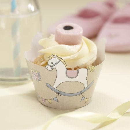 cupcake cups - RB 4013 Cupcake Wraps 450x450 - Cupcake Cups – Schaukelpferdchen