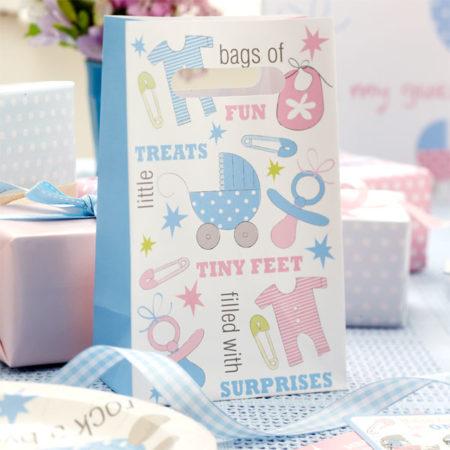 geschenktütchen - TINFLOOT 450x450 - Geschenktütchen – Baby Füßchen