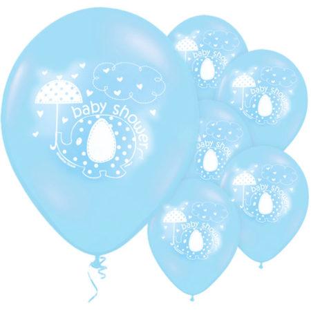 luftballons - UMBLBALL 450x450 - Luftballons Babyelefant – Blau