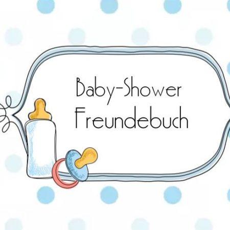babyshower - Cover e1521231749904 450x450 - Babyshower Freundebuch – Klassisch