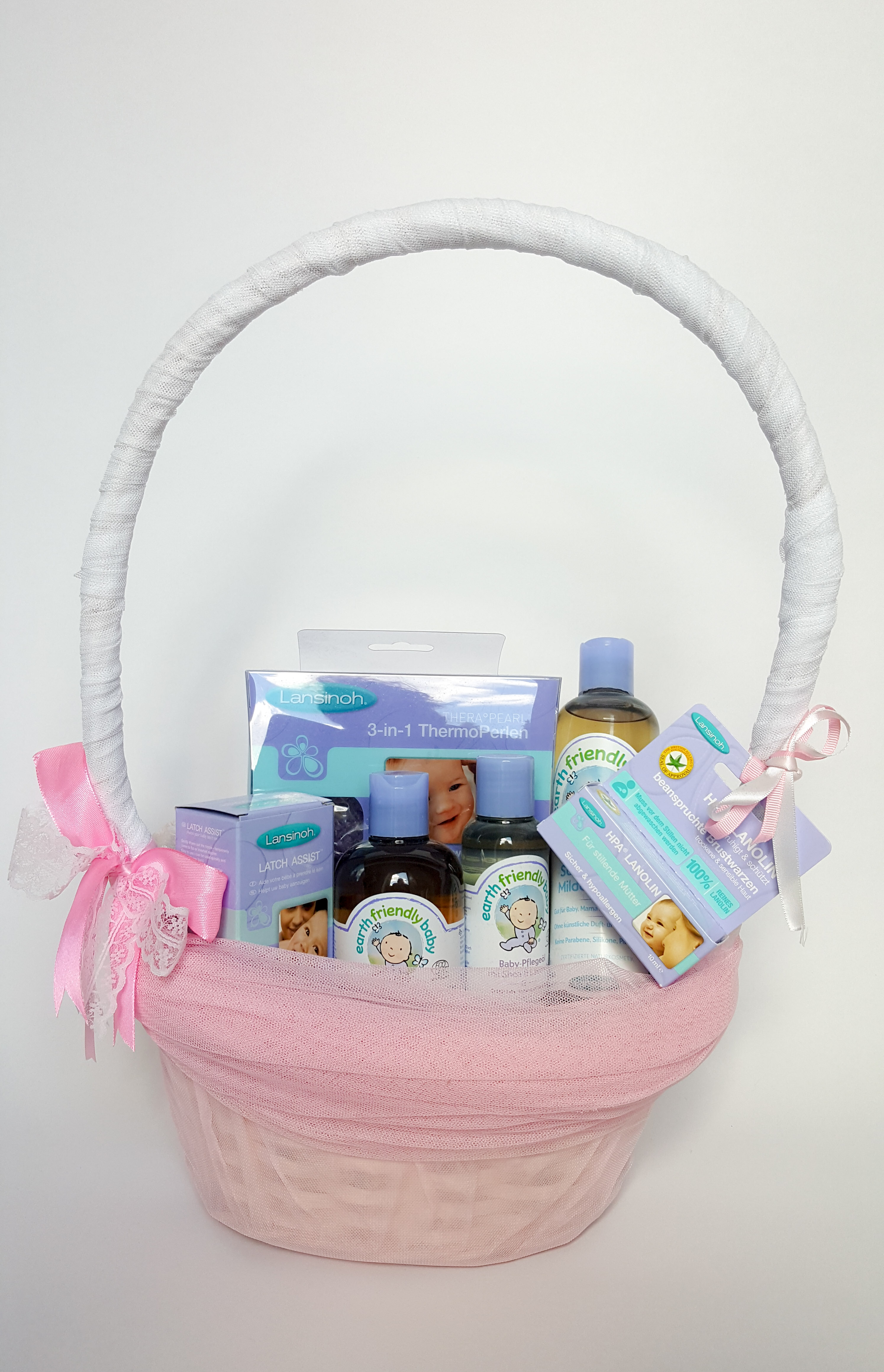 Geschenkkorb Mit Pflegeset Pflegeprodukten Girl