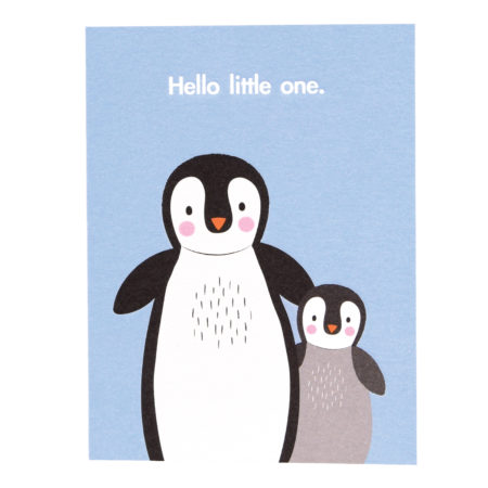 babykarte - 27648 450x450 - Babykarte Hello Little One – Pinguin specials - 27648 450x450 - Specials