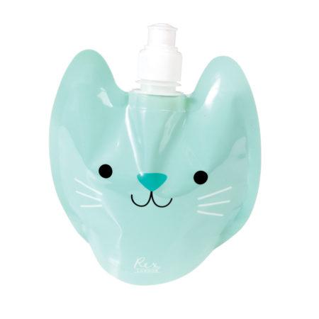 wasserflasche - 27784 2 450x450 - Faltbare Wasserflasche Für Kinder Cookie The Cat