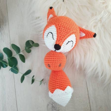 kuscheltier - Download 46 450x450 - Gehäkeltes Kuscheltier Foofoo der Fuchs