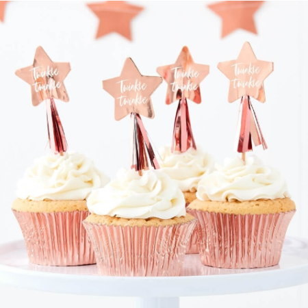 "cupcake - Twinkle topper 450x450 - Cupcake-Toppers ""Twinkle Twinkle"""
