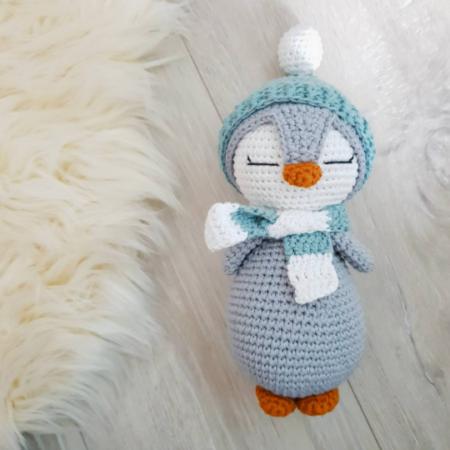 häkeltier pinguin - Download 72 450x450 - Kuscheltier Häkeltier Pinguin