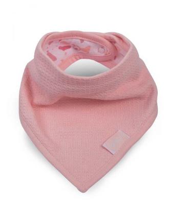 halstuch - Haltuch rosa - Halstuch Waffelpique in rosa