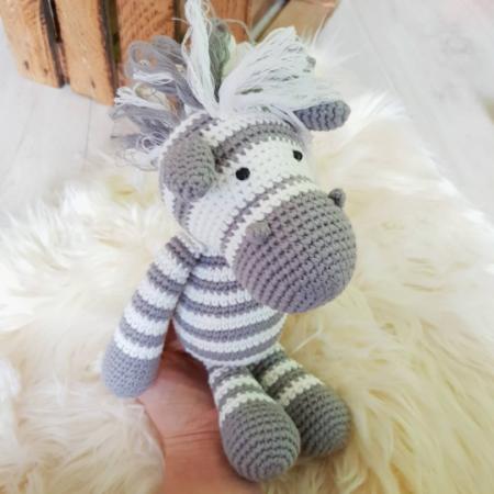 kuscheltier - Download 81 450x450 - Gehäkeltes Kuscheltier Zoe das Zebra