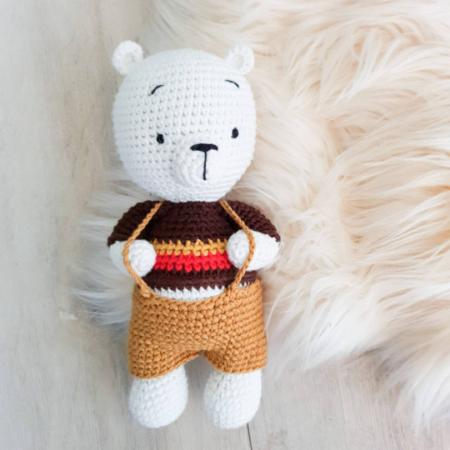 kuscheltier eisbär - Download 33 450x450 - Kuscheltier Häkeltier Eisbär